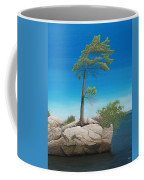 Tree In Rock Coffee Mug
