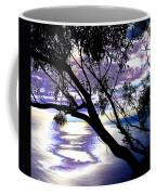 Tree In Silhouette Coffee Mug