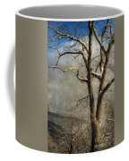Tree In Winter Coffee Mug by Lois Bryan