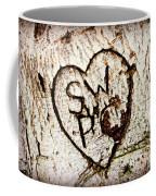 Tree Initials Coffee Mug