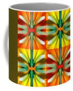 Tree Light Square Pattern Coffee Mug