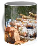 Tree Logs  Coffee Mug