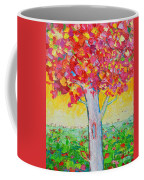 Tree Of Life In Spring Coffee Mug by Ana Maria Edulescu