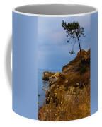 Tree On A Cliff II Coffee Mug