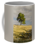 Tree On A Hill Vertical Coffee Mug