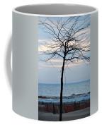 Tree On Beach Coffee Mug
