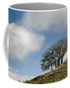 Tree On Hillside Coffee Mug
