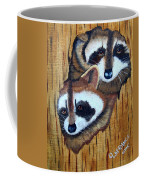 Tree Raccoons Coffee Mug