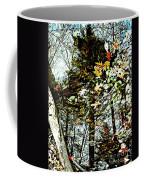 Tree Reflected In Leaves Coffee Mug