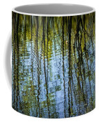Tree Reflections On A Pond In West Michigan Coffee Mug