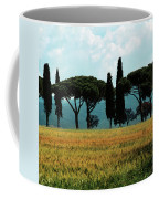 Tree Row In Tuscany Coffee Mug