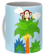Tree Top Monkey Coffee Mug