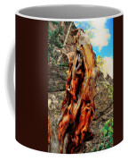 Tree Trunk Coffee Mug by Kathleen Struckle