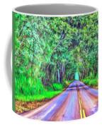 Tree Tunnel Kauai Coffee Mug
