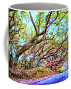 Tree Tunnel Near Isaac Hale Beach Coffee Mug
