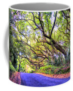 Tree Tunnel On The Big Island Coffee Mug