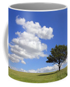 Tree With Clouds Coffee Mug