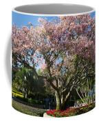 Tree With Pink Flowers Coffee Mug