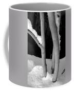 Tree With Snow Coffee Mug