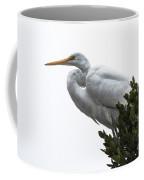 Treed Egret Coffee Mug by Robert Bales