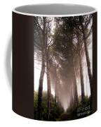 Trees And Mist Coffee Mug