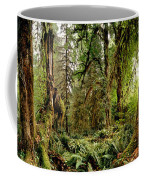Trees At Olympic National Forest Coffee Mug