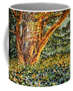 Trees At Sunset In Lafayette Park Coffee Mug