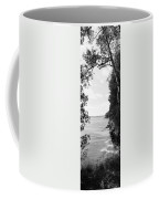 Trees At The Lakeside, Cave Point Coffee Mug