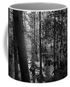 Trees Bw Coffee Mug