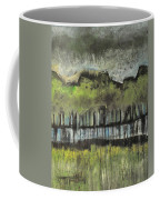 Trees By A Stream Coffee Mug