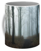 Trees During Autumn In Forest, Dupage Coffee Mug