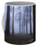 Trees Greenlake With Man Walking Coffee Mug