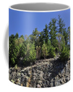 Trees Growing On The Edge Coffee Mug