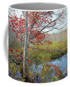 Trees In A Forest, Damariscotta Coffee Mug