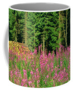 Trees In A Forest, Germany Coffee Mug