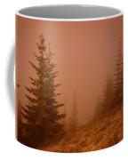Trees In The Fog Coffee Mug