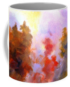 Trees In The Morning Coffee Mug