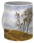 Trees Of The Beach Coffee Mug