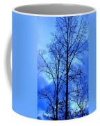 Trees So Tall In Winter Coffee Mug