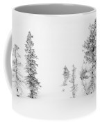 Trees With Hoar Frost Coffee Mug