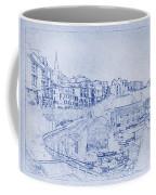 Trenby Bay Blueprint Coffee Mug