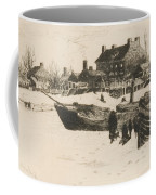 Trenton Winter Coffee Mug by Stephen Parrish