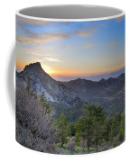 Trevenque Mountain At Sunset  2079 M Coffee Mug