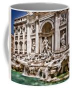 Trevi Fountain In Rome Italy Coffee Mug