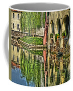 Treviso Canal And Reflections Coffee Mug