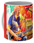 Trey Anastasio Squared Coffee Mug by Joshua Morton