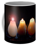 Tri Candles Coffee Mug
