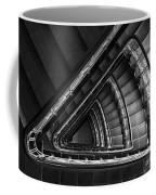 Triangle Staircaise In Bw Coffee Mug