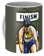 Triathalon Competitor Coffee Mug