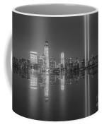 Tribute In Light Reflections Bw Coffee Mug